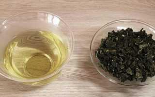 Чай молочный улун-полезные и вредные свойства