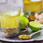 Зеленый чай с имбирем и лаймом